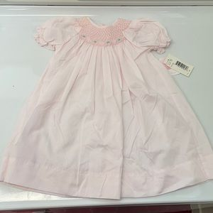 Petit Ami Hand Embroidered Dress 9M